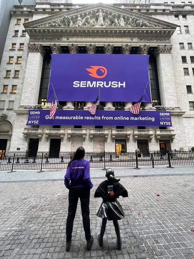 Semrush Goes Public At New York Stock Exchange