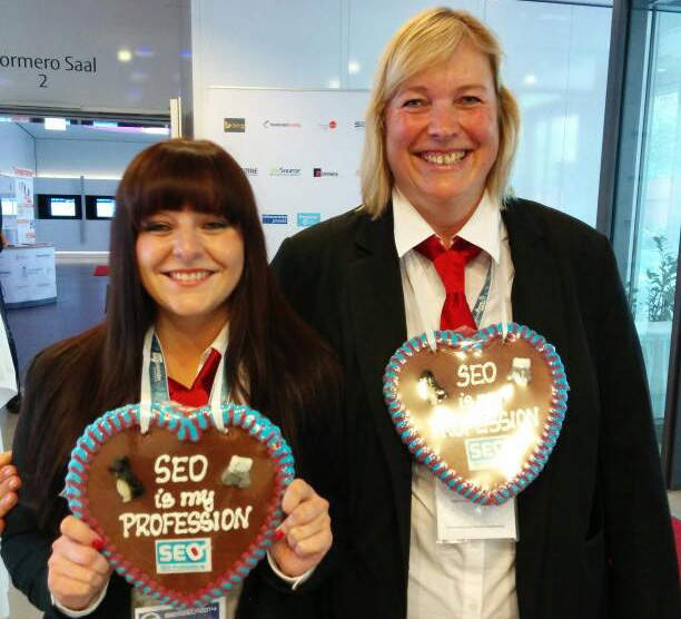 SEO Gingerbread Heart Necklaces