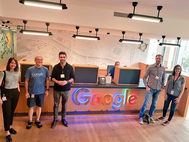 SEOs Visit John Mueller At Google Zurich