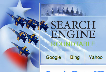 2011 Memorial Day Logos From Google, Bing, Ask com & Others