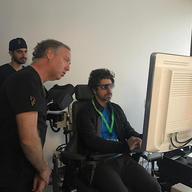 Sergey Brin Learning Robotic Surgery