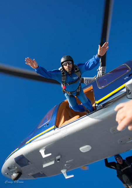 Google's Sergey Brin Skydiving With Google Glass