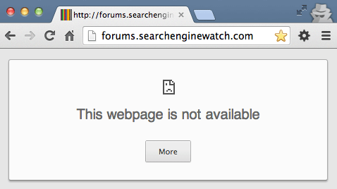Search Engine Watch Forums Now Offline