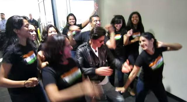 Shah Rukh Khan, Bollywood Star, At Google