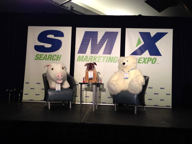 Pug, Pig & Polar Bear With Google's Matt Cutts