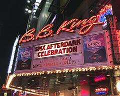 SMX & Search Engine Land Take Over B.B. King Blues Club