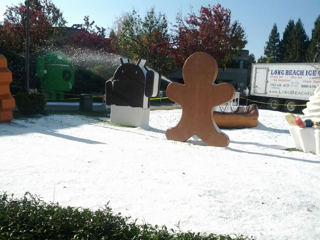 Snowing At Google