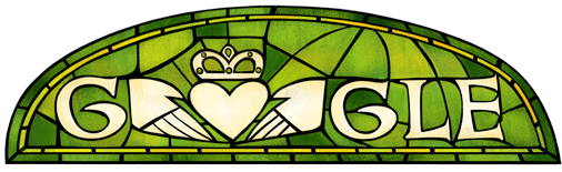 Saint Patrick's Day Logo From Google