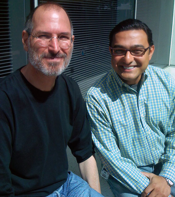 Apple Steve Jobs & Google's Vic Gundotra In 2007