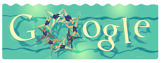 Google Synchronized Swimming