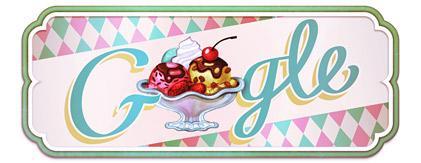 Google's Ice Cream Sundae Doodle
