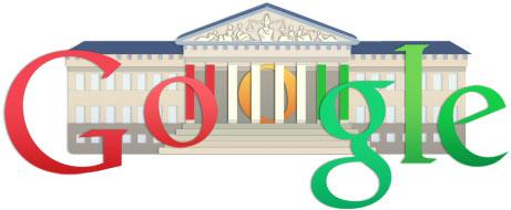 Google Hungarian Revolution Logo