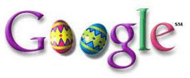 Google Easter Logo from 2000