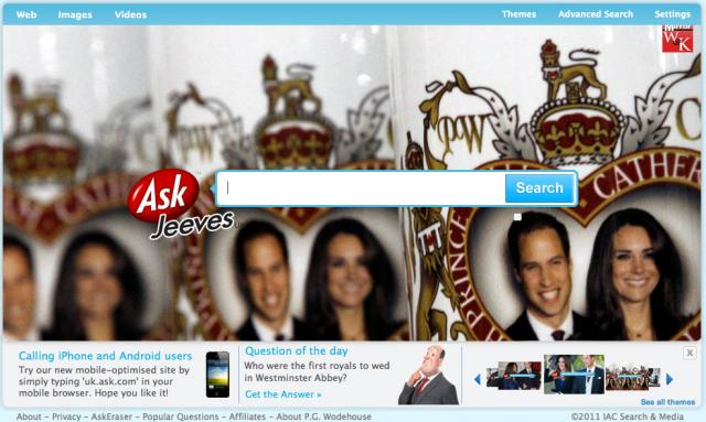 Ask UK Royal Wedding Logo