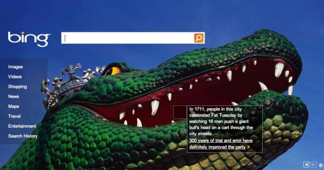 Bing's Mardi Gras Theme