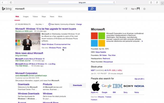 Bing Also Testing Google's Search Results Design