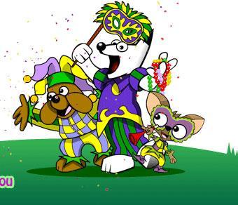 DogPile's Mardi Gras Theme