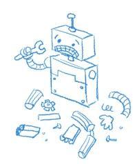 Google 404 Robot