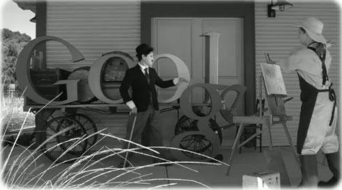 Charlie Chaplin Google Still