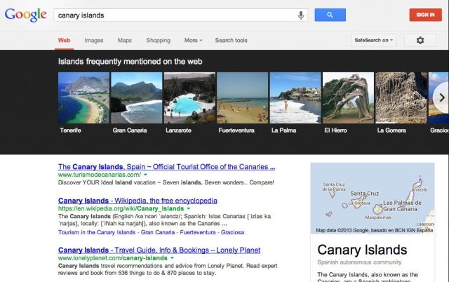 Google Knowledge Graph Carousel Updated - click for full size
