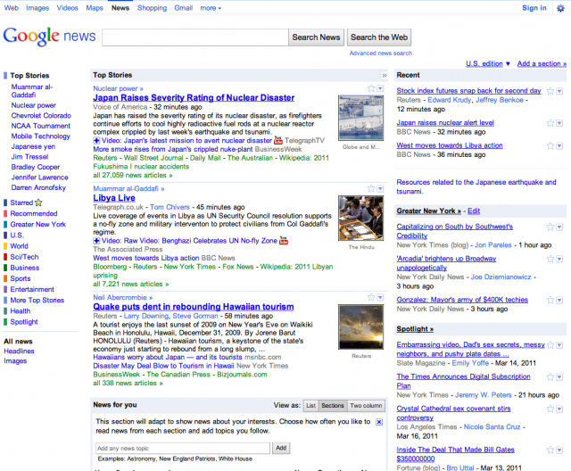 Google News Home - Click to Enlarge In New Window