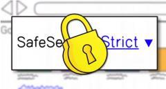 Google Image Safe Search Lock