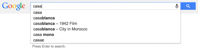 Google Search Auto Suggest Displays Knowledge Graph Data - click for full size