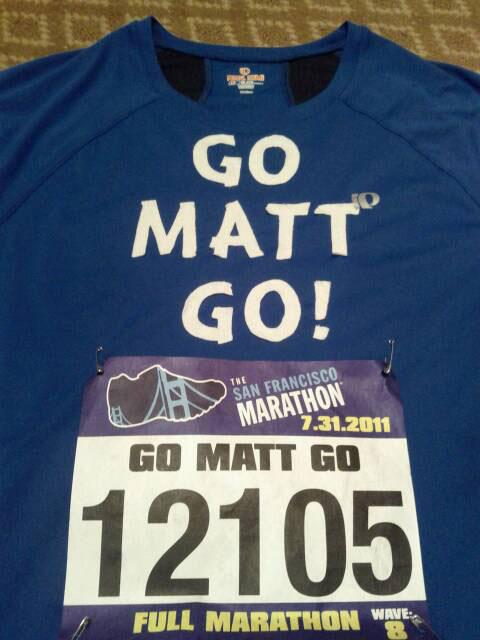 Matt Cutts SFO Marathon