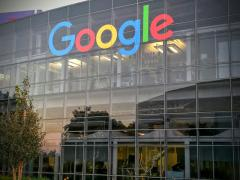 GooglePlex Gets The New Google Logo Throughout