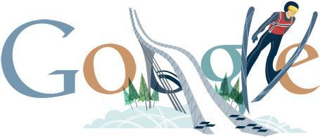 Oslo Ski VM 2011 Google Logo