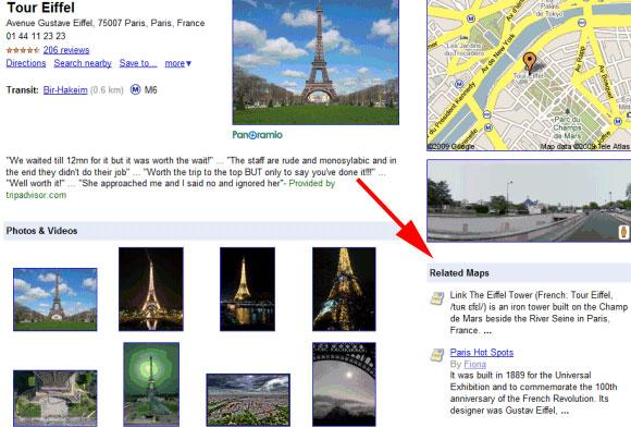 Google Related Maps