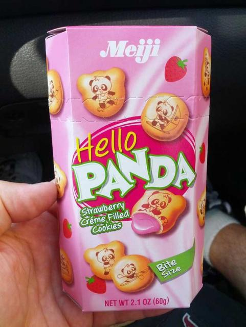 Google Strawberry Panda Candies