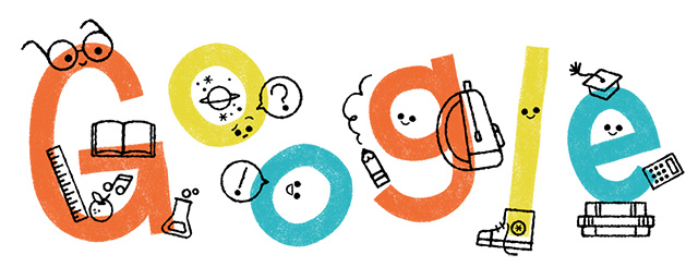 us teacher appreciation week google logo