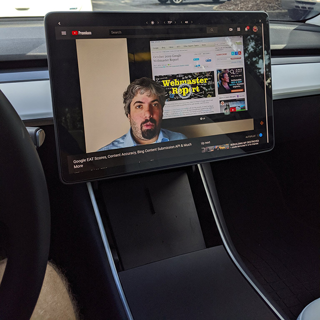 Watching The Search Buzz Video Recap On A Tesla