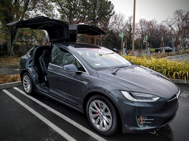 Bradley Horowitz Gets A Tesla Model X - A tesla