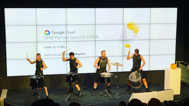 The Hit Machine Drummers At Google