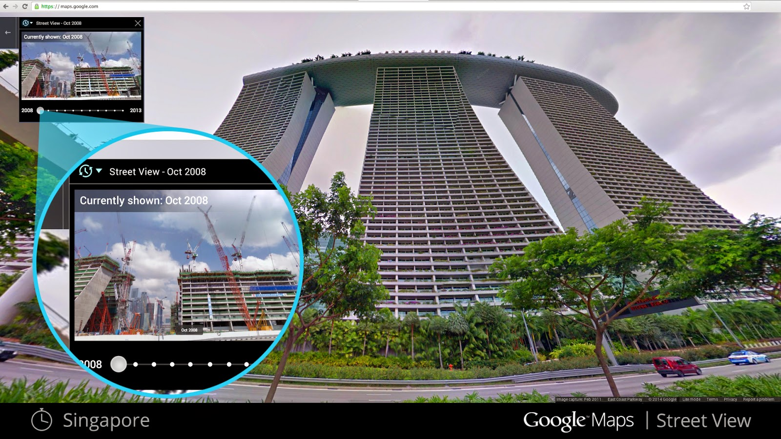 Google Maps Street Views Adds Seven Years Of Historical Images on