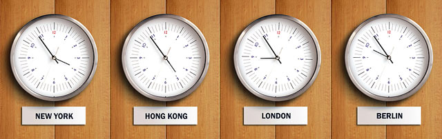 AdWords Time Zones