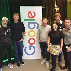 Tony Hawk At Google Detroit Months Ago