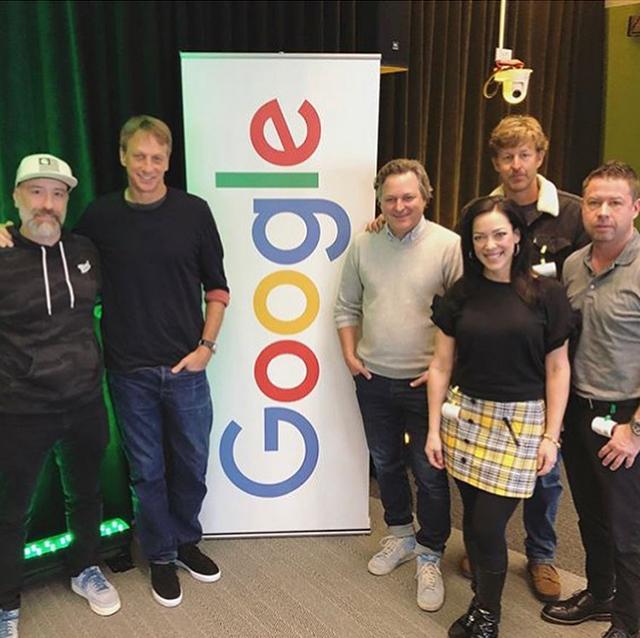 Tony Hawk At Google Detroit