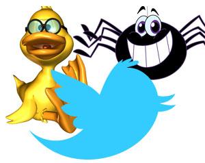 Twitter SpiderDuck
