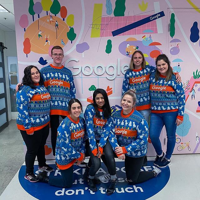 Ugly Google Christmas Sweaters