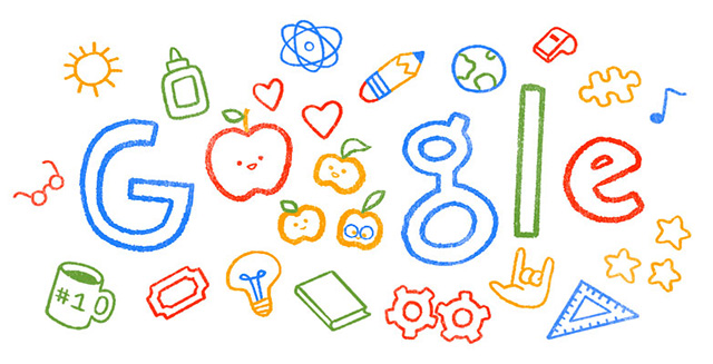 Google Teacher Appreciate Week Doodle