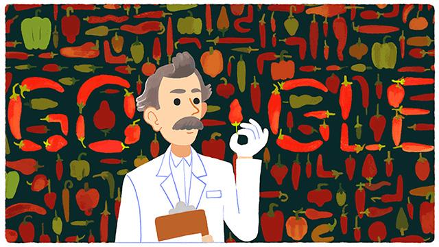 Google Wilbur Scoville Doodle: Spiceness Detector Or