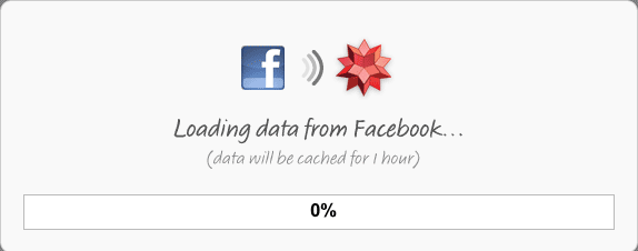 Wolfram|Alpha Facebook Loading