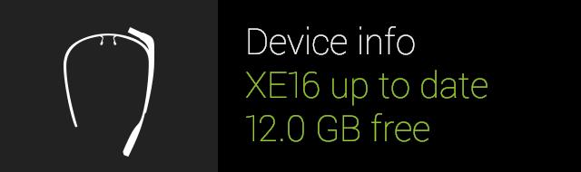 Google Glass XE16