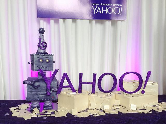 A Yahoo Robot Cake