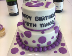 Yahoo's 18th Birthday Cake