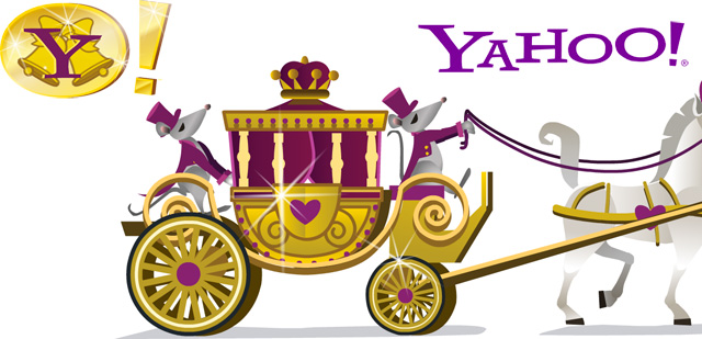 Yahoo's Royal Wedding Logo