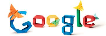 Akira Yoshizawa - Google Origami Logo